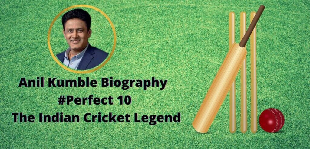 Anil Kumble Biography | #Perfect 10| The Indian Cricket Legend